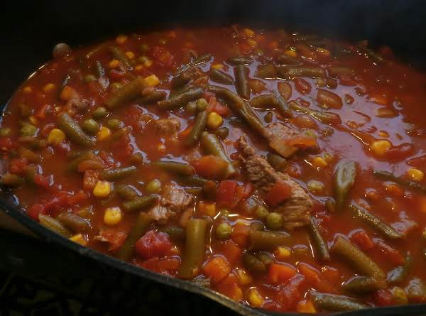 Tomato Vegetable Beef Stew