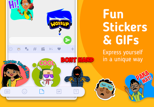 Mint Keyboard - Stickers, Font & Themes 1.07.12.000 Screenshots 1