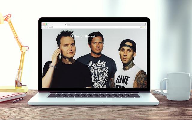 Blink 182 New Tab Music Theme