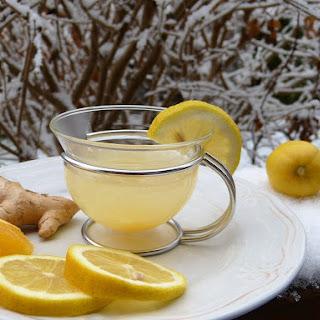 Hot Ginger Citrus Juice.