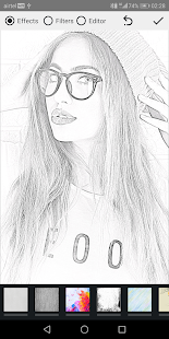 Pencil Photo Sketch-Skizzenzeichnung Editor Screenshot