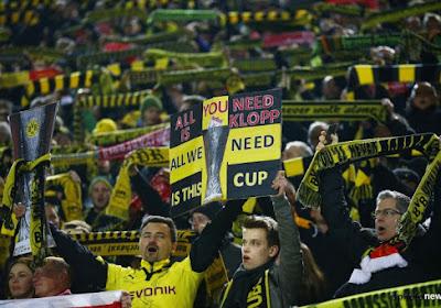Fantastisch kippenvelmoment: zo ontvingen de 80.000 Dortmund-fans ex-coach Klopp (met beelden)