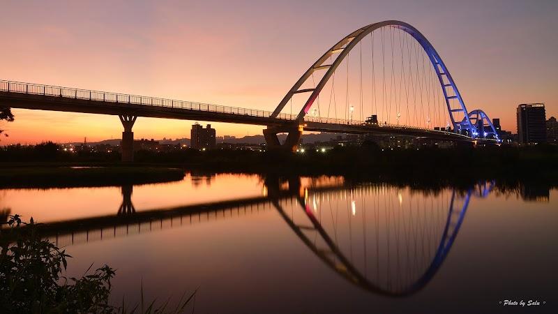 新北 新莊 板橋 新月橋 夜景 攝