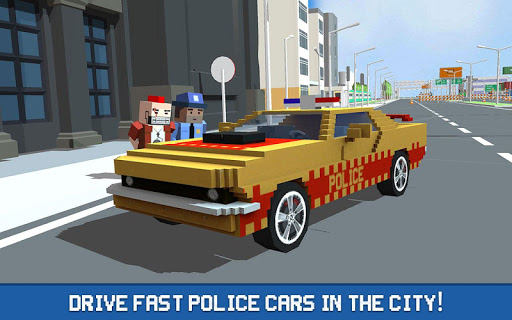 Blocky Police Driver: Criminal Transport for PC