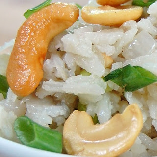 Coconut Cashew Basmati Rice Salad.