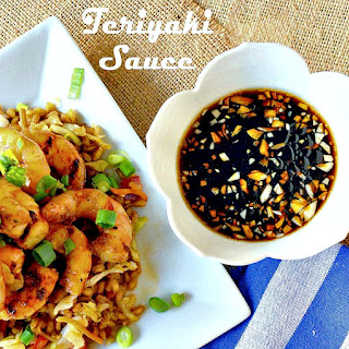Teriyaki Shrimp or Glaze and Grill