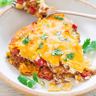 Cheesy Beef Taco Pie