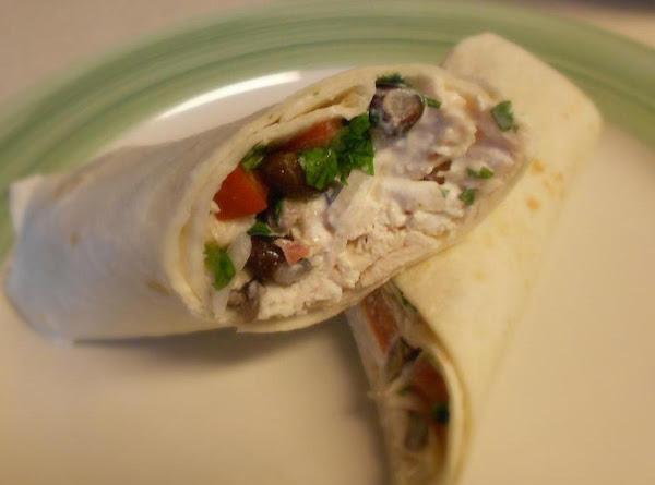Cilantro Chicken Wraps Recipe
