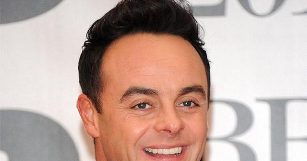 Ant McPartlin supported by ITV