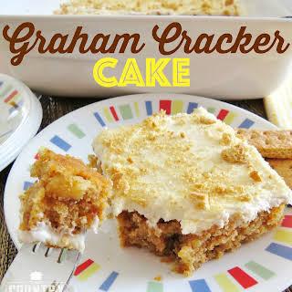 Graham Cracker Cake.