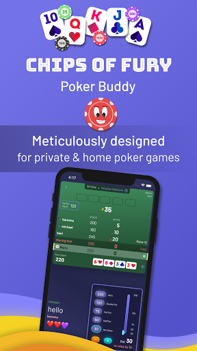 Chips of Fury: Poker Buddy - Play with Friends filehippodl screenshot 1