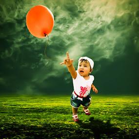 Reach Ur Dream by Zaky Maghfur - Babies & Children Children Candids