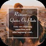 Romantic Quotes On Photo icon