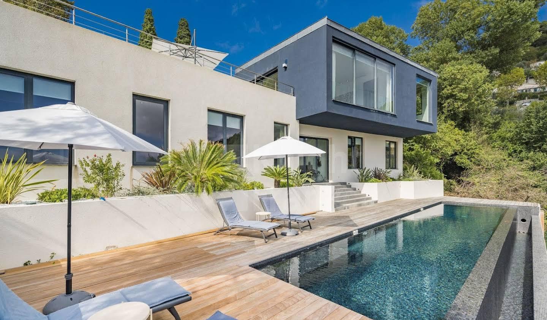 Villa with pool Eze