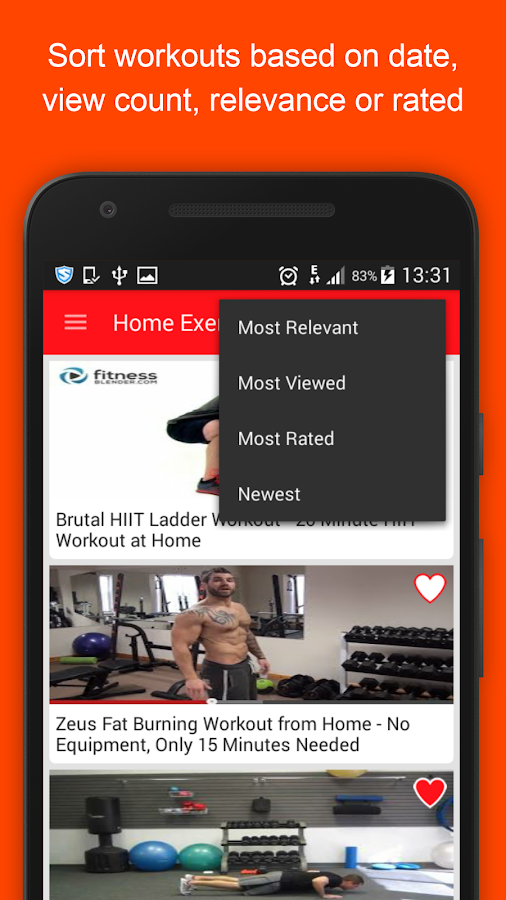 Home Workout Guide For Men Screenshot