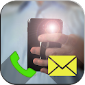 Flash Alerts on Call and SMS icon