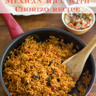 Rice with Chorizo.