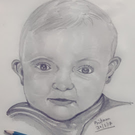 Cute as ever by Pritam Bhowmick - Drawing All Drawing