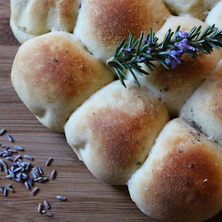 Joanna's Crock Pot Rosemary and Lavender Pull Apart Rolls