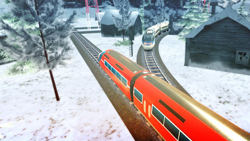 Euro Train Racing 3D screenshot 5