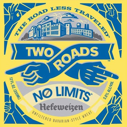 Logo of Two Roads No Limits Hefeweizen