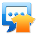 Strange Pumpkin for Handcent Next SMS icon