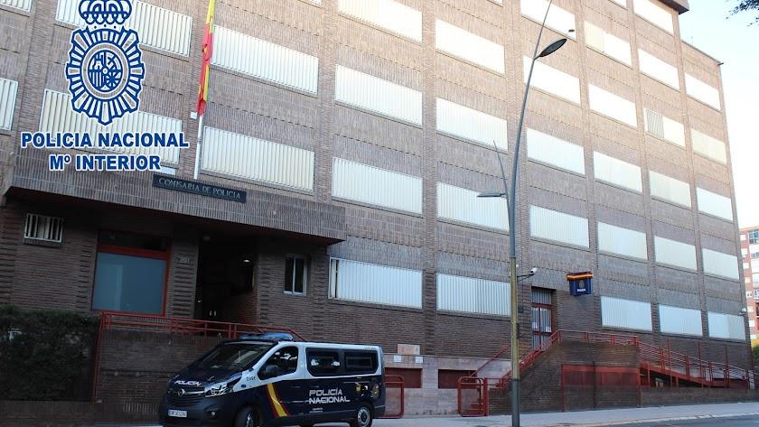 Imagen de archivo de la Comisaría de Policía Nacional de Almería.