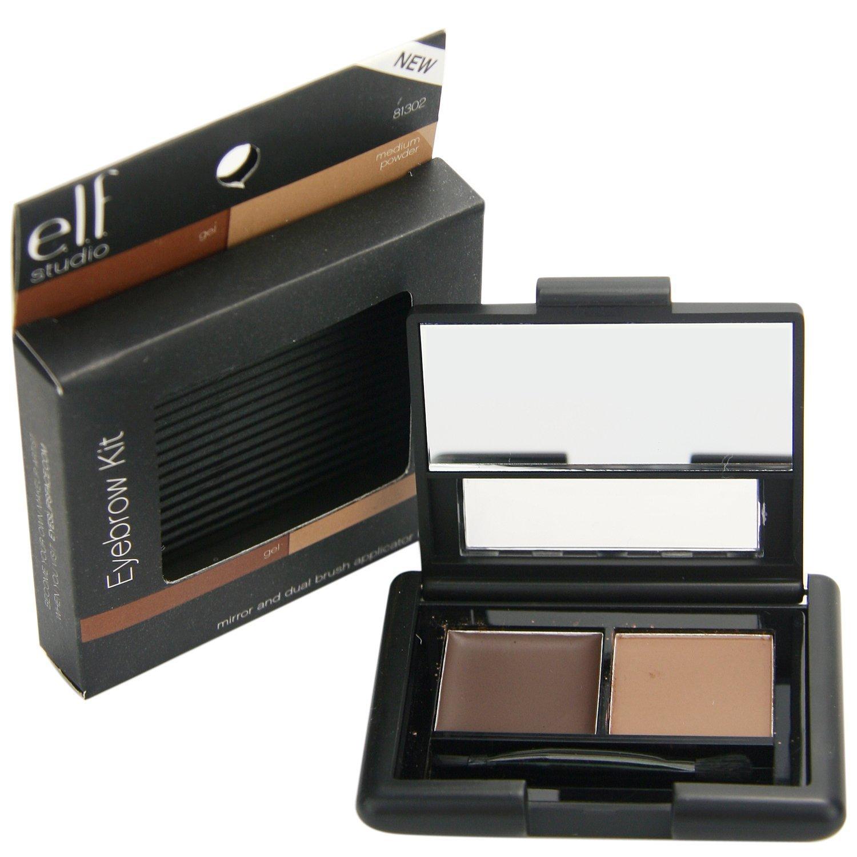Elf Cosmetics Elf Eyebrow Kit Gel Powder Medium 012 Oz By