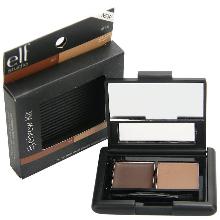 E.L.F. Cosmetics, ELF Eyebrow Kit, Gel - Powder, Medium, 0.12 oz by Supermodels Secrets