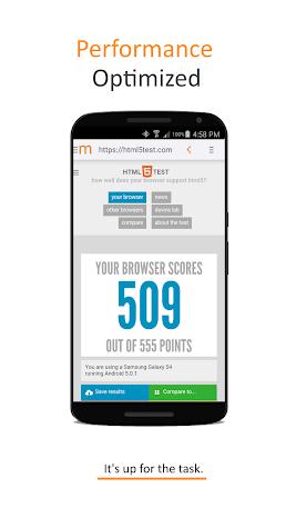 Minimal Browser Screenshot