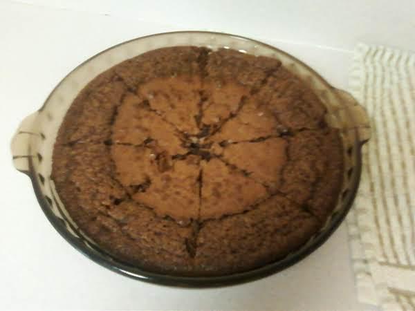 Carolyn's No Crust Fudge Pie Recipe