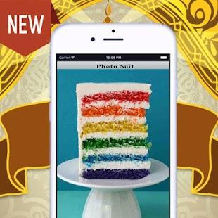 variant taset Rainbow Cake - náhled