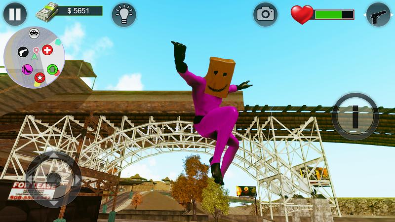 Скриншот Bagman Superhero