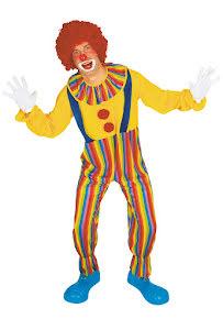 Clowndräkt, vuxen