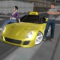Crazy Driver Taxi Duty 3D icon