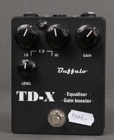 Buffalo TD-X USED. Very good condition.