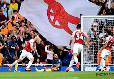 Arsenal boekt in Londense derby de eerste zege onder Emery, Mbenza debuteert naast Depoitre