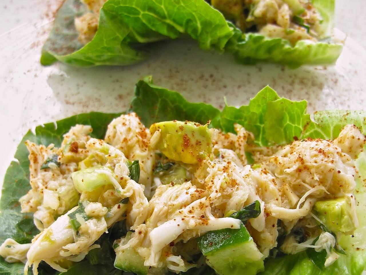 Crab Salad Recipes No Mayo