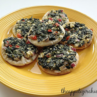 Mini Greek Spinach Melts