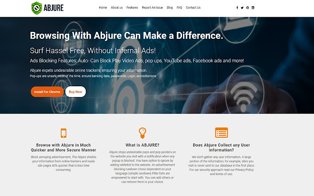 Abjure, Complete Browser Protection !!