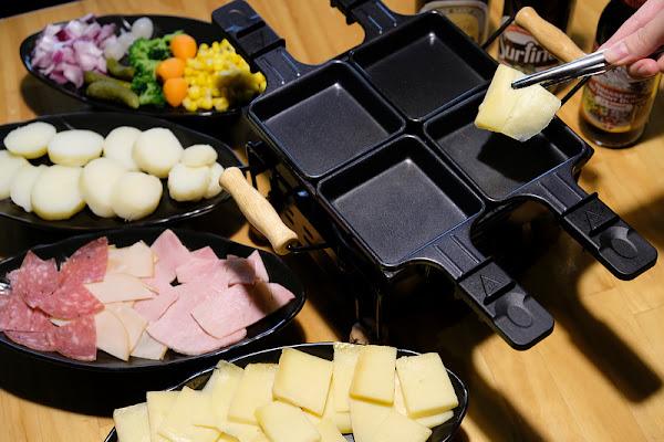 【板橋】Le Puzzle法式薄餅小酒館:哈克雷鐵板刮起司超美味!道地法國人開的餐廳