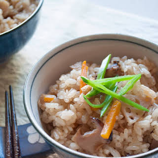 Gomoku Gohan (Japanese Mixed Rice).
