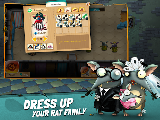 The Rats: Feed, Train and Dress Up Your Rat Family filehippodl screenshot 15