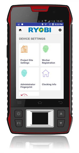 RYOBI Biometric for PC