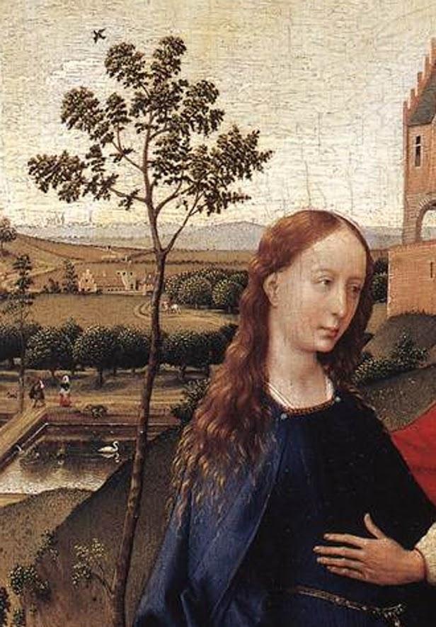 Article about Van Der Weyden Annunciation