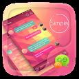 (FREE) GO SMS SIMPLE THEME apk
