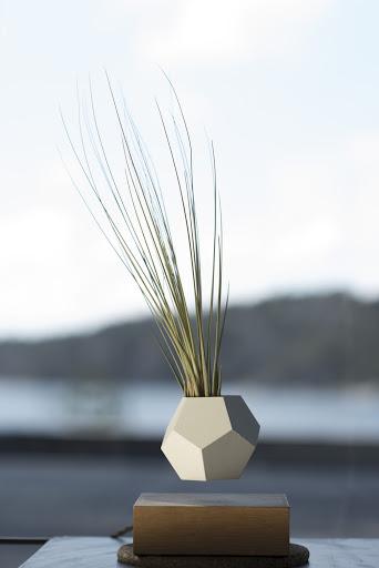 Novos plantadores magnetizados permitem que seu jardim levitem no ar