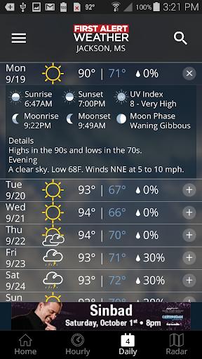 First Alert Weather screenshot