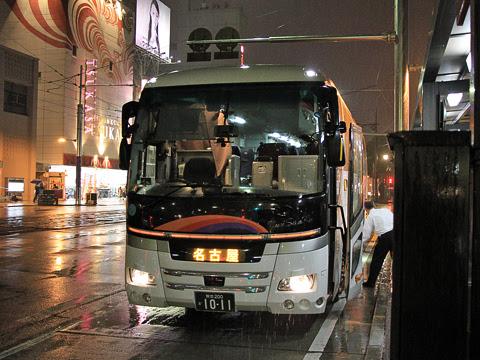 九州産交バス「不知火号」 1011 熊本交通センター改札中