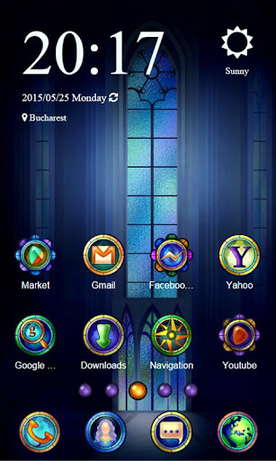 Stained Glass ZERO Launcher